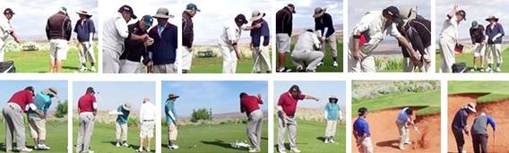 ゴルフ歴31年のシニアゴルファーN様が、スコアーのばらつきが大きく安定しないとゴルフ留学に来られ、シングルプレーヤーになられ御帰国されました。