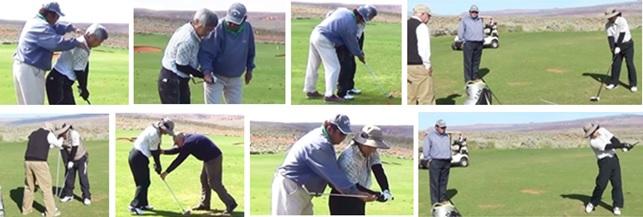 61歳T様がゴルフ留学に来られ、安定したシングルプレーヤーになり御帰国されました。