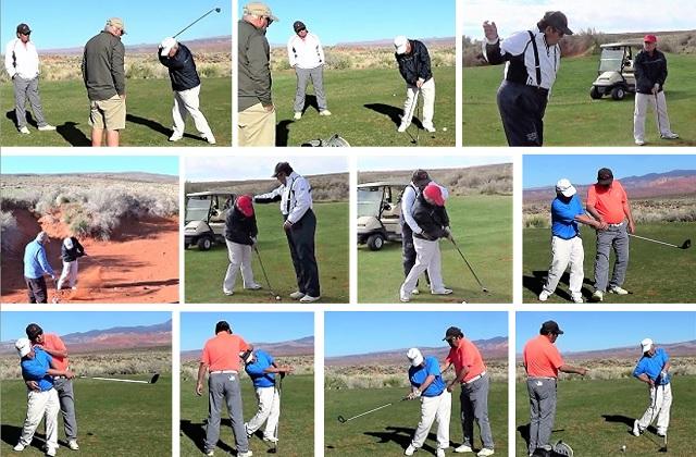 69歳K様が一度しっかりとゴルフを習ってレベルアップしたいと短期ゴルフ留学に来られました。