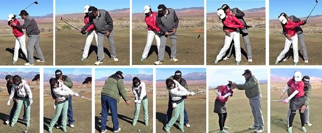 還暦を前にもう一つ上のレベルでプレーしたい、又これからは競技ゴルフにも参加していきたいとゴルフ留学に来られました。